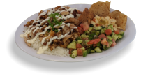 chicken mediterranean rice plate